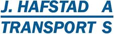 Transport og container i Førde – J. Hafstad Transport Logo